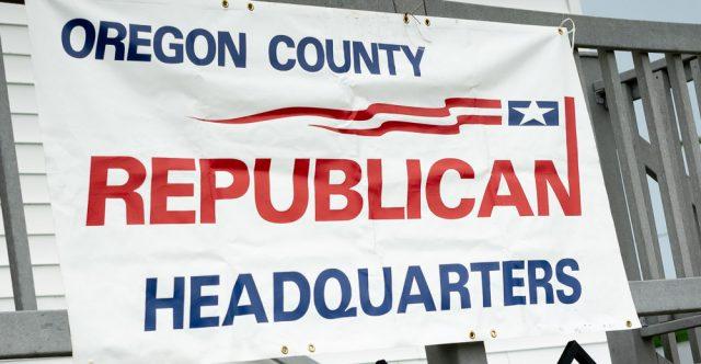 Oregon County republican headquarters.