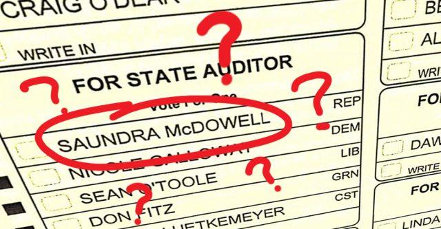 Saundra McDowell Question.