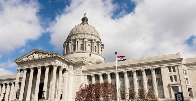 Missouri state capitol building.