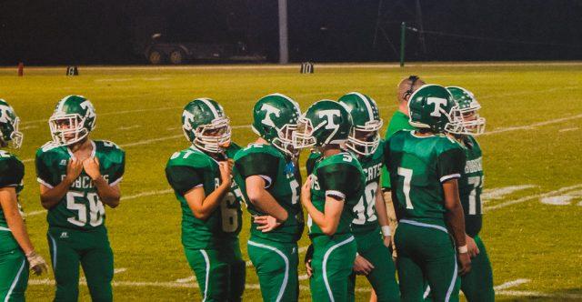 Thayer Football Game.