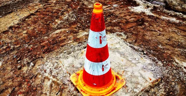 Construction cone.
