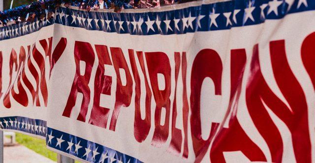 Republican sign.
