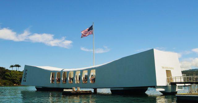 Pearl Harbor memorial today.