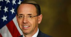 Official portrait of Rod Rosenstein as Deputy Attorney General (Official photo by United States Department of Justice)