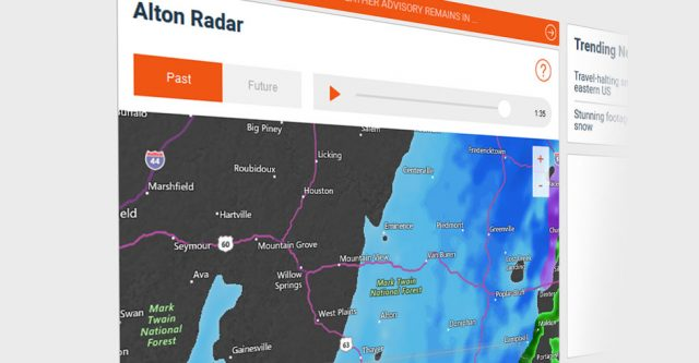 Alton weather radar. (Photo by accuweather.com)