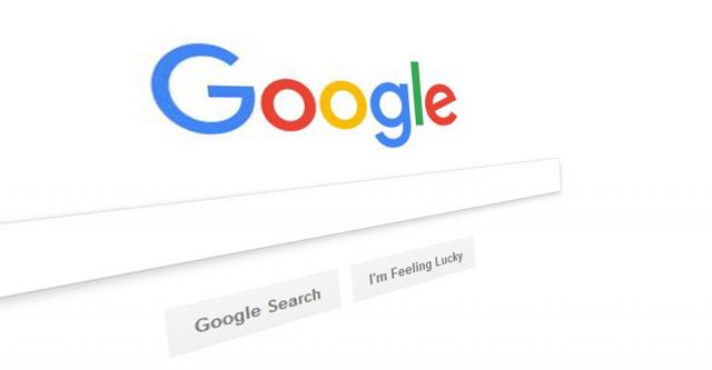 Google Logo From Google Home Page