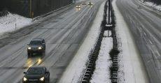 Icy highways.