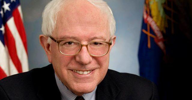 U.S. Senator Bernie Sanders of Vermont. (Official photo by United States Congress)