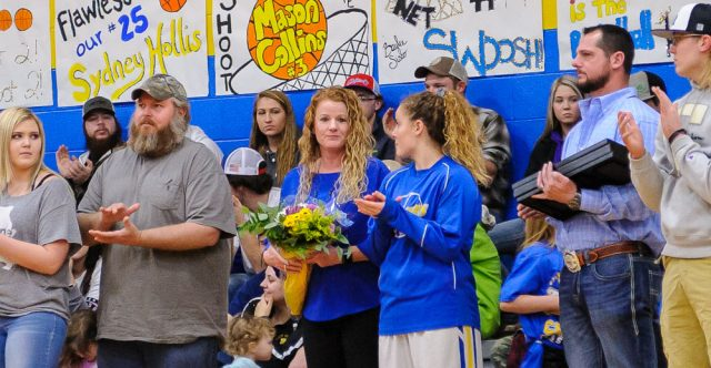 Seniors and their parents are celebrated.