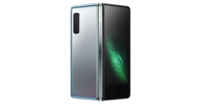 Samsung Galaxy Fold. (Official photo by Samsung.com)