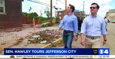 Senator Josh Hawley in Jefferson City, MO (Photo by KMOV.com).
