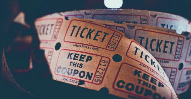 Movie tickets.
