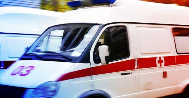 An Ambulance.