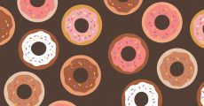 Donuts and sprinkles.