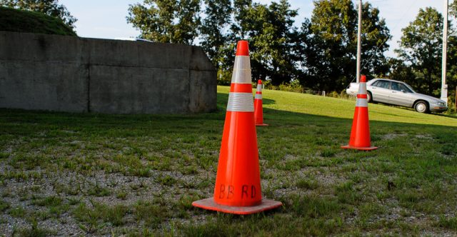 BB Road construction cone..