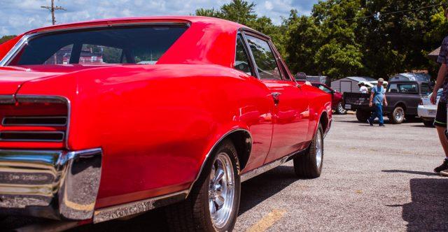 1967 Pontiac, owned by Larry Burnham, third place winner.