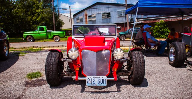 1953 Roadster, owned by Mr. Shehorn, second place winner.