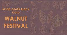 Walnut Festival flier.