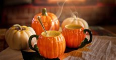 Pumpkin drinks.