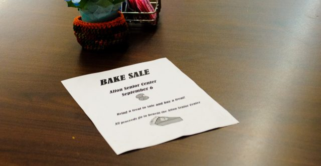 Alton bake sale.
