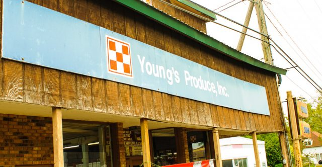 Young's Produce in Alton, Missouri.