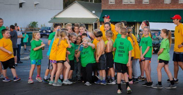 Annual walnut run group photo time!
