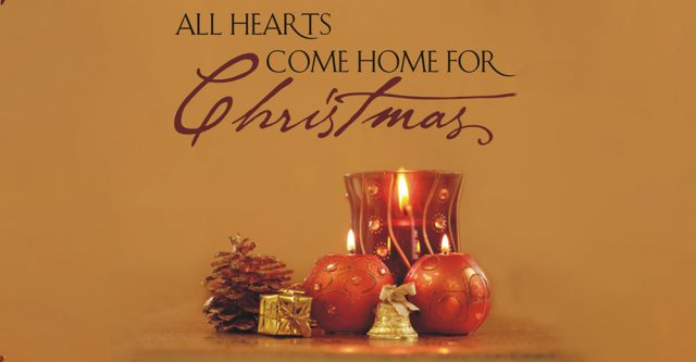 All hearts come home for Christmas. (Official photo by Kerry Kelley.)