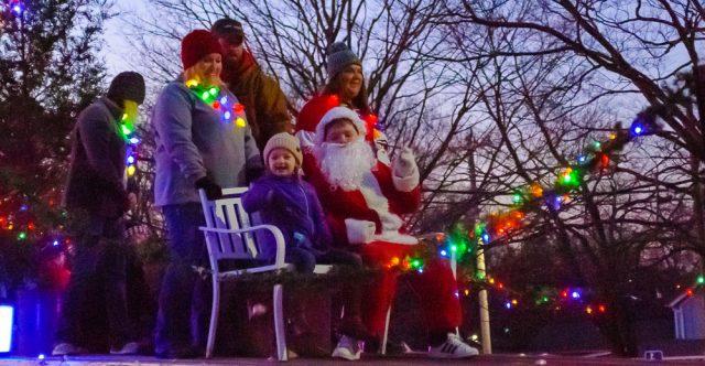 Santa has a new sleigh this year.