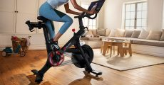 The Peloton bike (official photo by onepeloton.com)