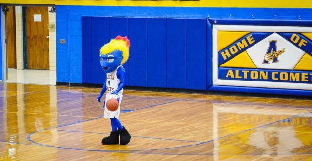 Alton Comets mascot
