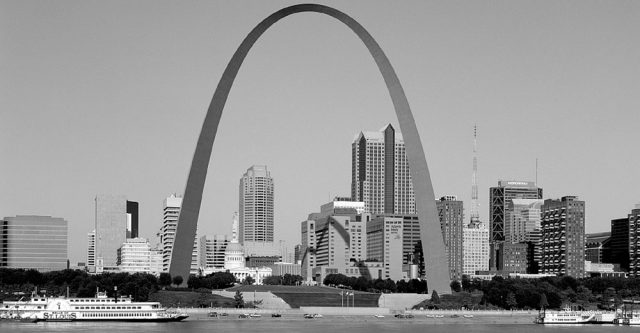 The Saint Louis Arch.