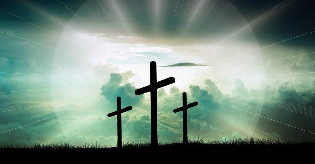 Crosses silhouette