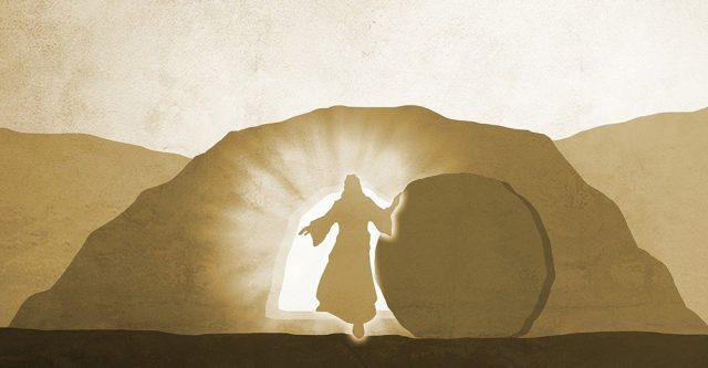 Easter morning.