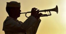 Naval trumpeter.