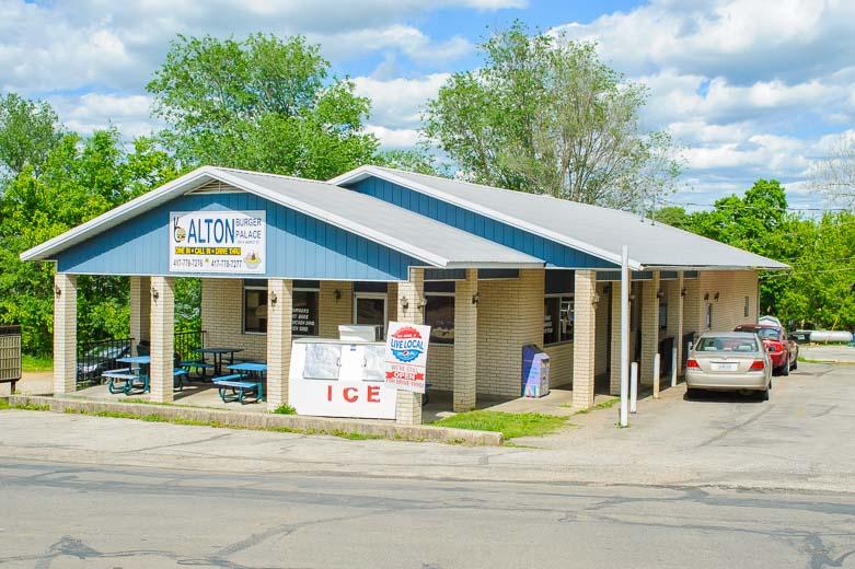 Burger palace in Alton Mo.