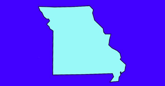 Outline of state of Missouri.