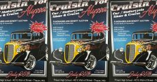Cruisin Alyssa car show poster.
