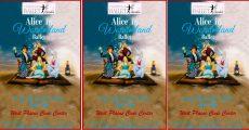 Banner for the Alice In Wonderland Ballet.