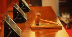A Judges Gavel.