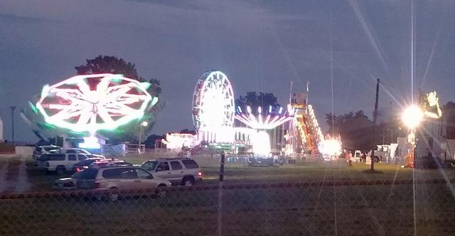 Carnival at Heart of the Ozarks Gairground
