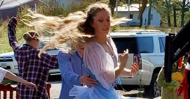 Shyanne Durrenberger dances the part of Wendy