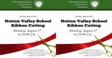 Hutton Valley Ribbon Cutting
