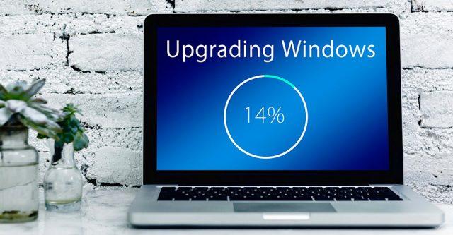 Upgrading Windows Screen On Laptop