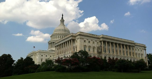 The United States Capital Building.