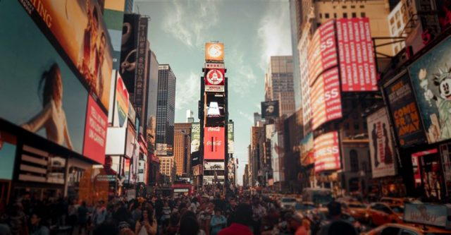 New York City Time Square.