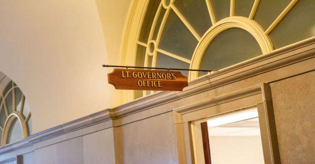 Lieutenant Governor of Missouri sign.