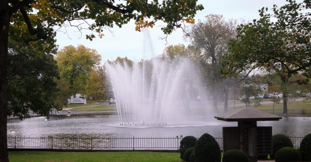 College of the Ozarks fountain