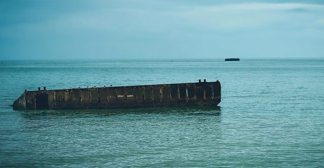 A Vehicles and Personnel Landing Craft