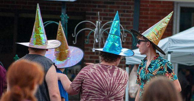 Teens at the Walnut Festival